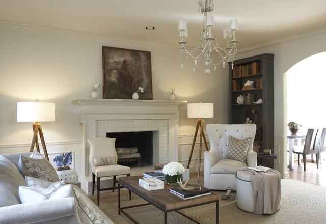Vestavia Hills House - Shabby chic - Living Room - by Dana Wolter