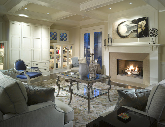 Vickery Residence traditional-living-room