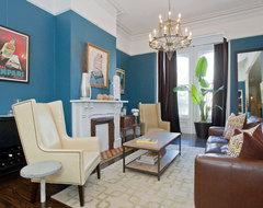 Alamo Square Living Room traditional-living-room
