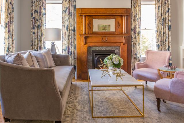 victorian restoration victorian living room boston