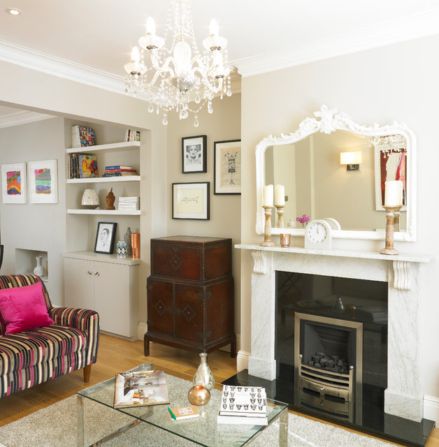 Victorian Terrace House Contemporary Living Room Other By Cream Black Interior Design Houzz Uk