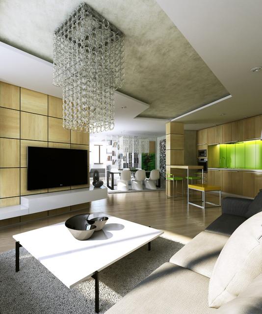 View of living room modern-living-room