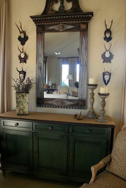 vignette design traditional-living-room