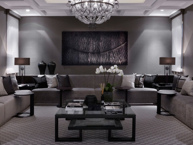 Villa kuwait living room london by louise bradley for Interior design room planner
