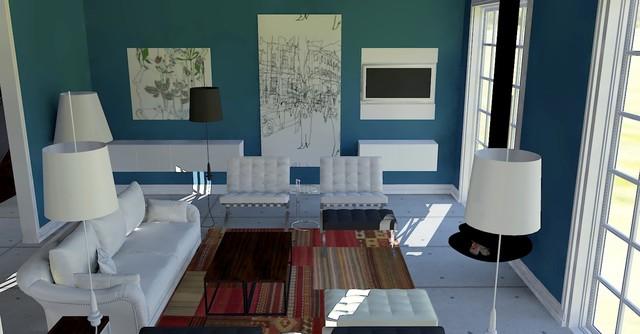 Villa Optima eclectic-living-room