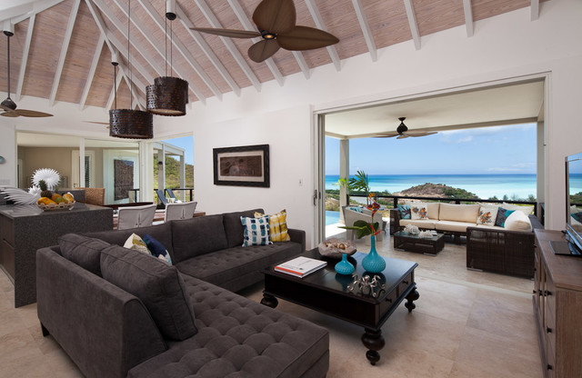Villa Saccharum - Sugar Ridge tropical-living-room