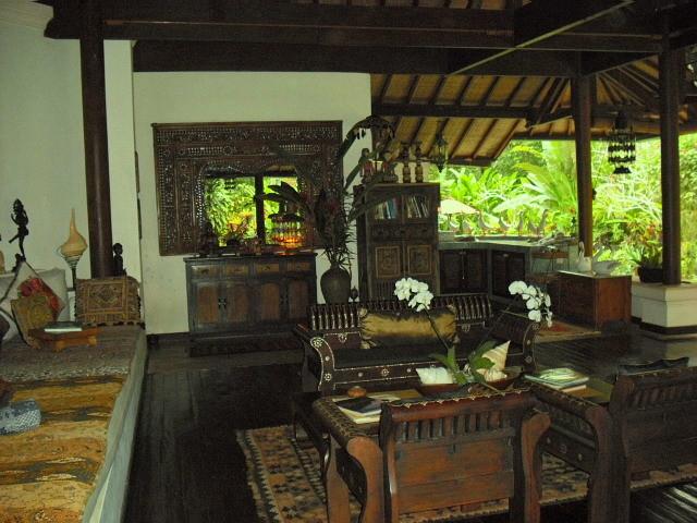 Villa Sanggah In Bali Tropical Living Room Hawaii By