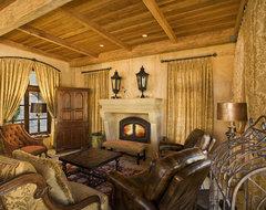 Villa Terra mediterranean-living-room