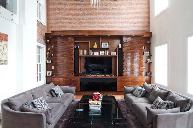 Vin De Garde Wine Cellars Inc. (New York) Modern Living Room