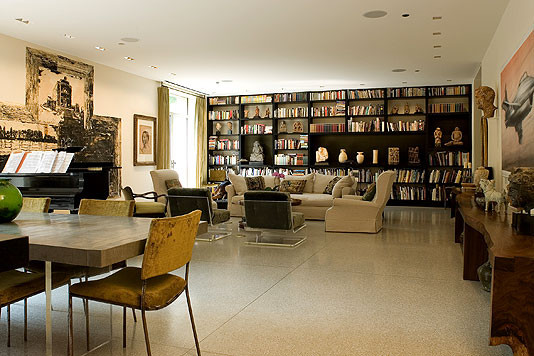 Vinci Hamp Architects Chicago contemporary living room