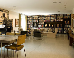 Vinci Hamp Architects Chicago contemporary-living-room