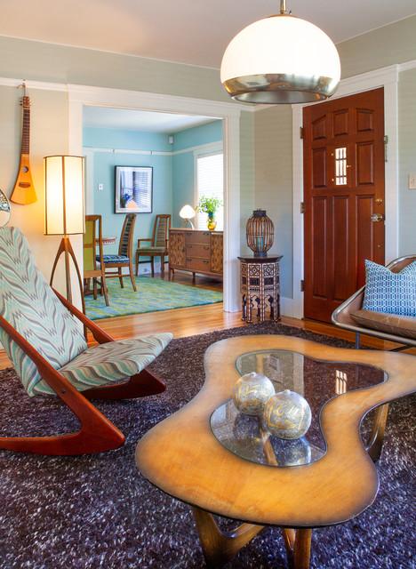 vintage bungalow midcentury modern livingkimball