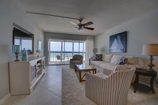 Interior Design Florida Remodelling Vintage Florida Beach Condo Gets A Transitional Remodel  Beach .