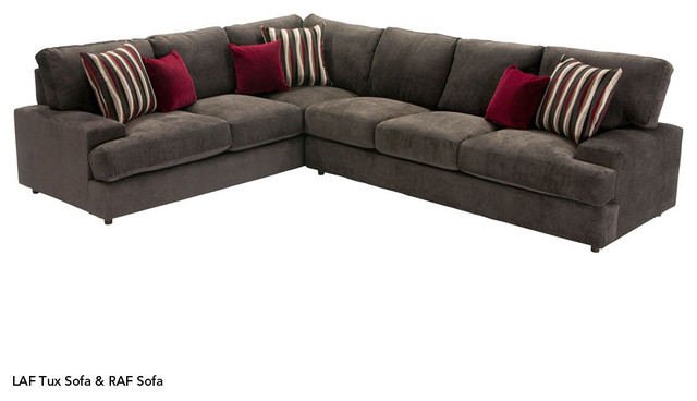 Vintage modern living room san diego by jerome39s for Sectional sofa jeromes