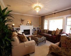 Vintage Modern Living traditional-living-room