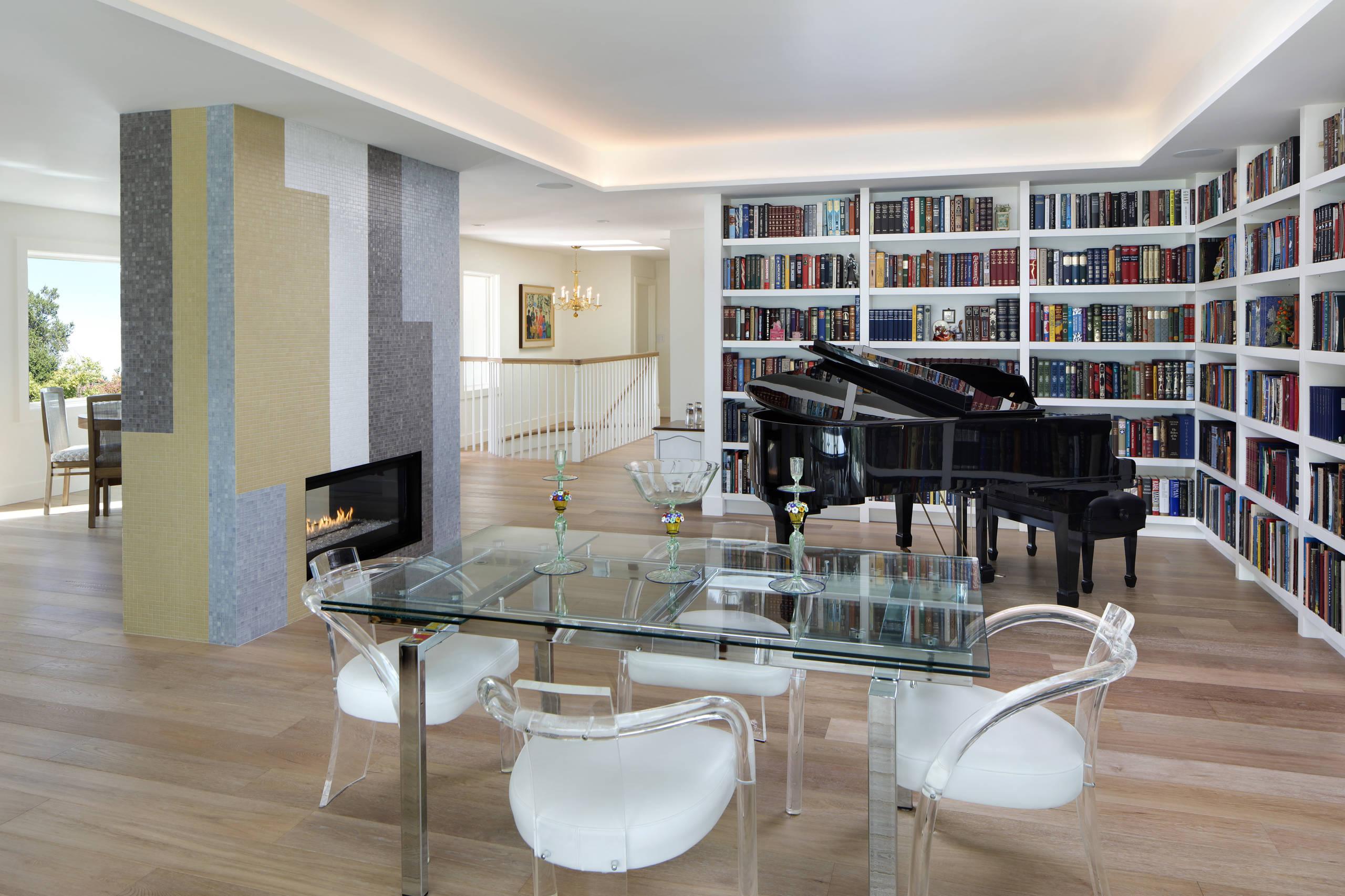 Vintage-Modern living room