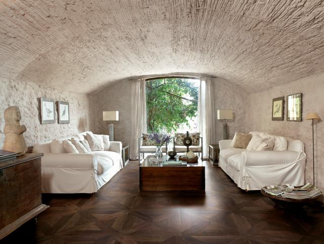 vintage parquet wood look tile flooring traditional