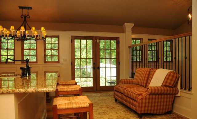 Virginia Farmhouse Farm Country Traditional Living Room Dc Metro By Mdc Cabinetry More