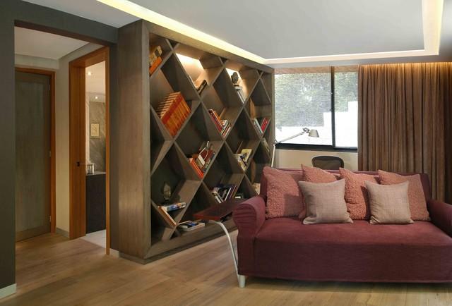 Virreyes house contemporary-living-room