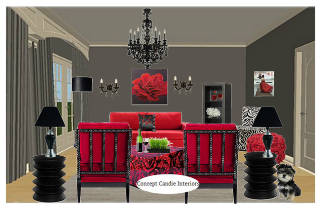 virtual decorating design project boards living room