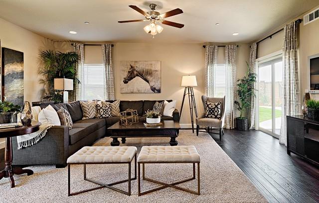 Visalia Ca Chevalier Modern Living Room By Lennar