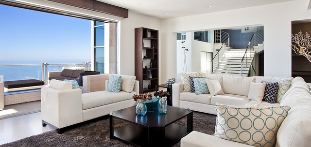 Vista Del Mar contemporary-living-room