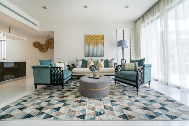 W Residences Sentosa 3 contemporary-living-room