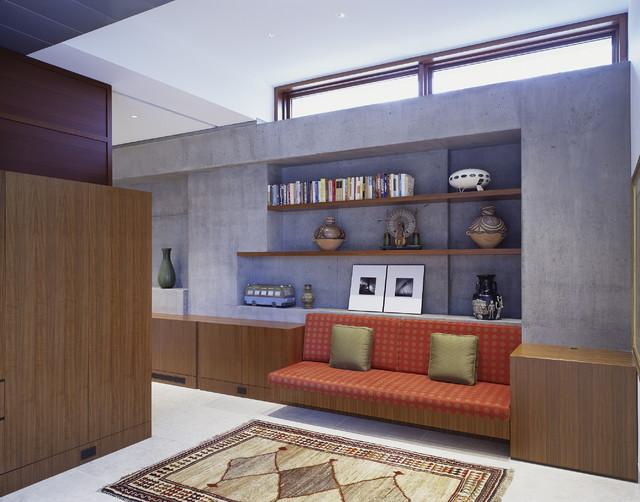 Waldfogel Residence modern-living-room