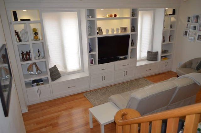 Wall Units and Fireplaces