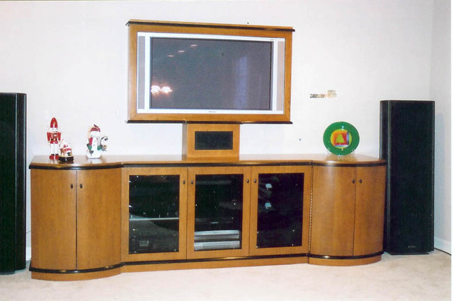 Wall Units Modern Living Room other metro by MJS