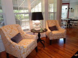 Wallin Transitional Living Room Charlotte By