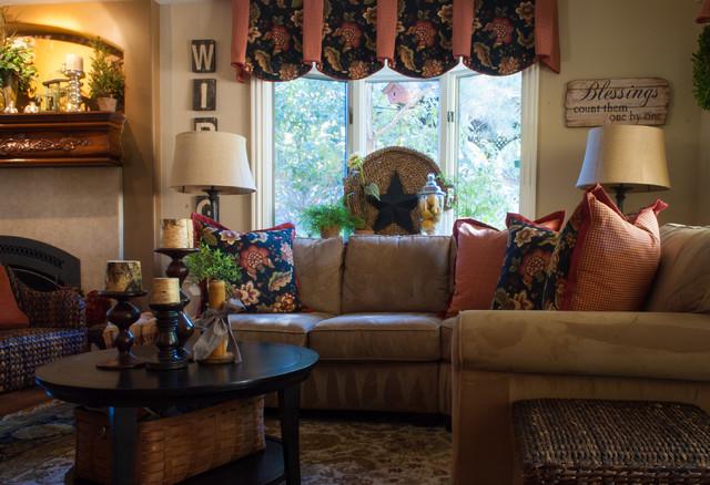 Walnut Creek Residence traditional-living-room