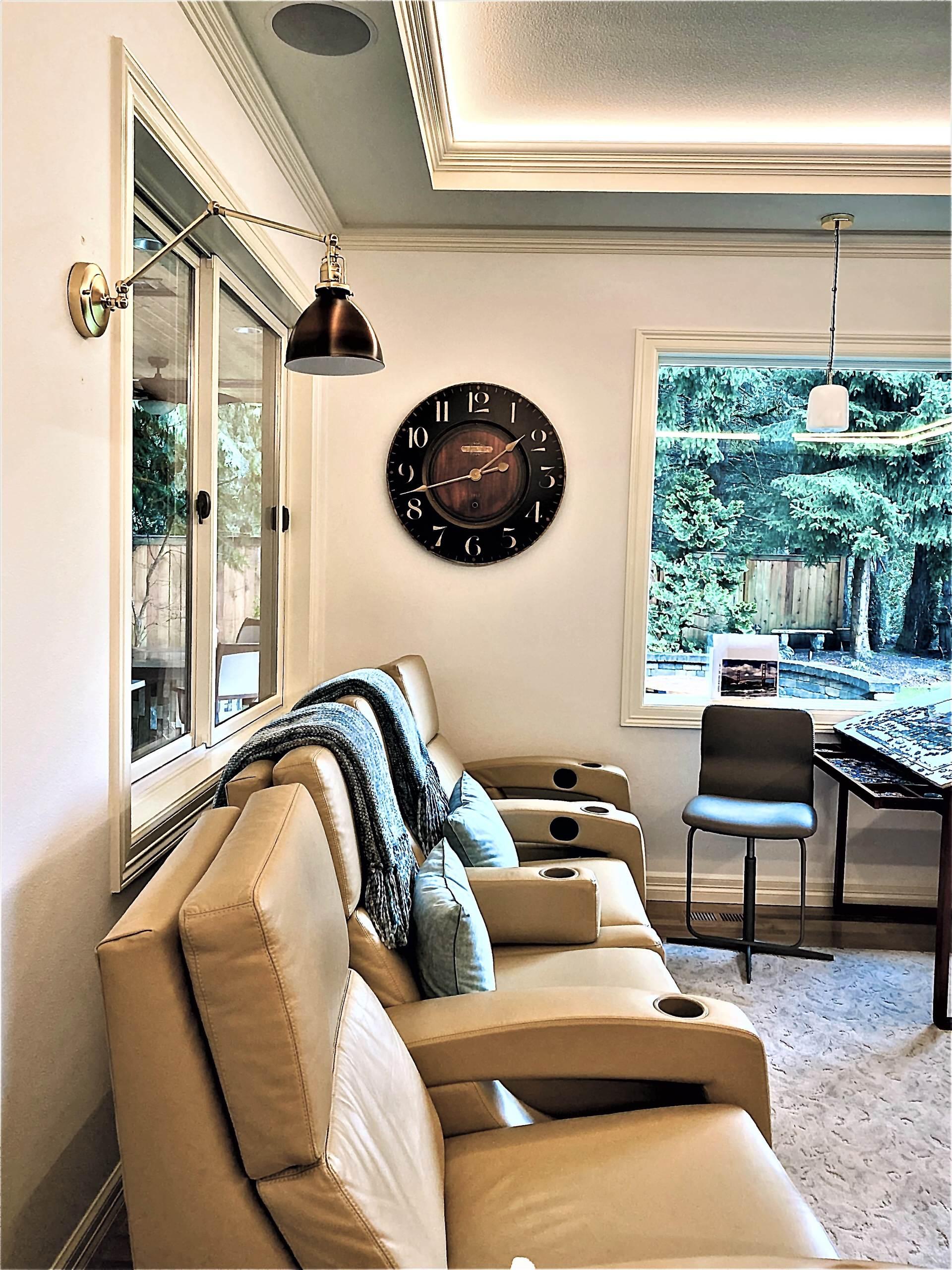 Walnut twilights living room
