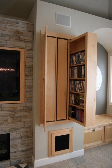 Warm Modern Living Room modern-living-room