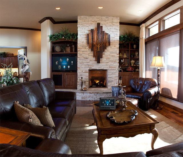 Warm Rustic Living Room Ideas