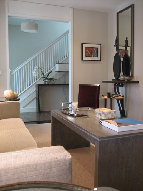 Washington DC modern-living-room