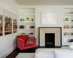 Parisian Modern Flat - Pacific Heights contemporary-living-room