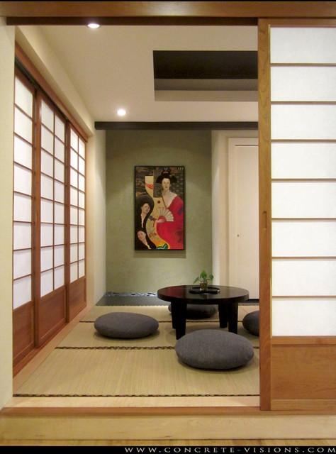 Japanese Interior Design Ideas in Modern Home Style -  http://www.designingcity