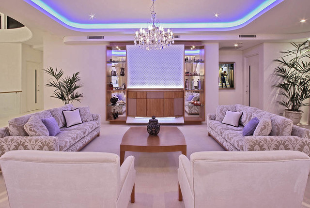 Waters Edge contemporary-living-room