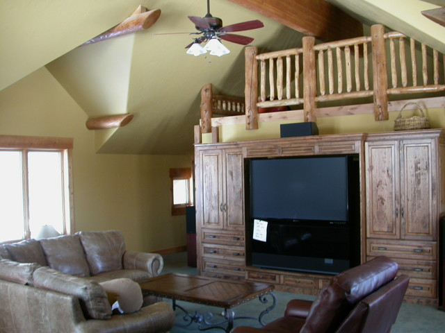 Watterson Home rustic-living-room