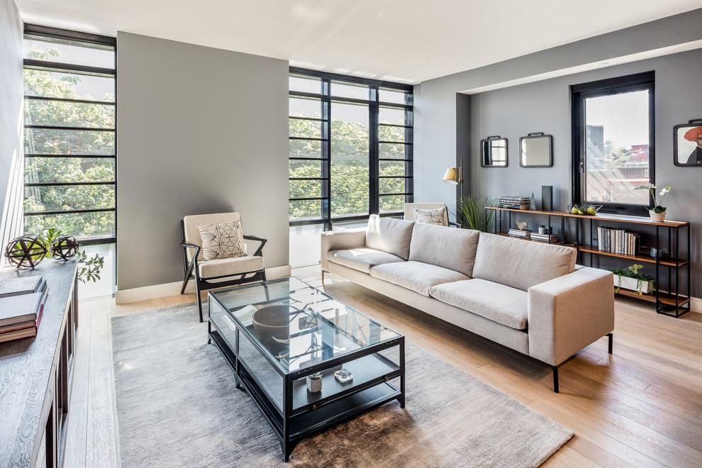 Waverly Brooklyn - Contemporary - Living Room - New York ...