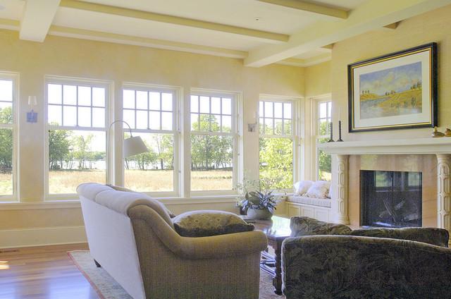 Wayzata Home traditional-living-room