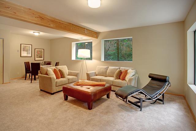 Wedgwood Split Level Traditional Living Room Seattle