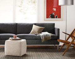 Wegner chair eclectic-living-room