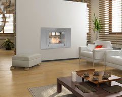 Wellington 2 Sided Ethanol Fireplace by Eco-Feu contemporary-living-room