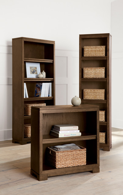 Wells Bookcases Contemporary Living Room Chicago By Crate Barrel