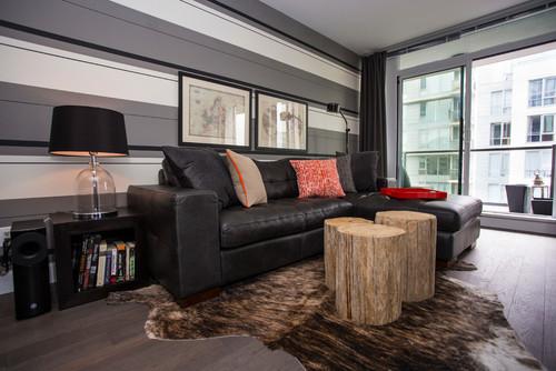 uomo moderno - contemporaneo soggiorno - La casa giusta per gli uomini moderni