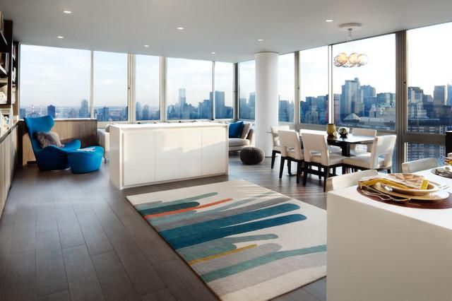 Kornfeld Residence contemporary-living-room
