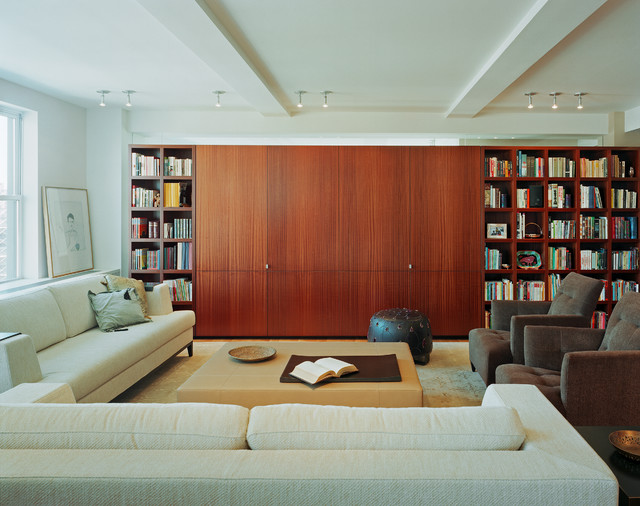 West 77th street apartment new york ny contemporary for W living room new york