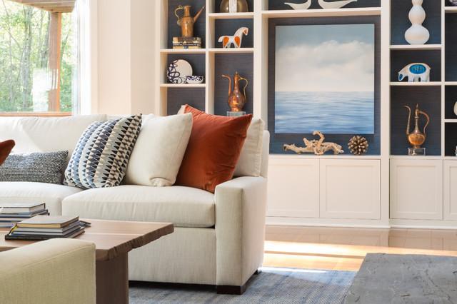 West Bay Renovation contemporary-living-room